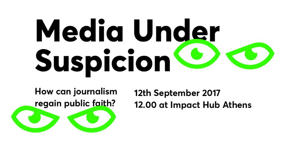 Media Under Suspicion: How can Journalism regain Public Faith