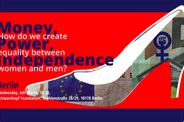 Money Power Independence: How do we create equality between women and men?
